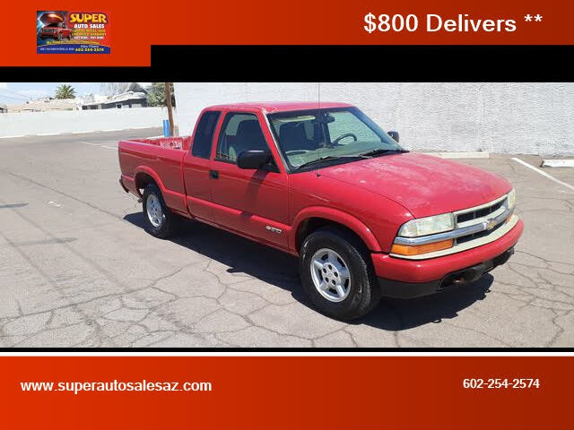 2002 Chevrolet S-10 LS Extended Cab 4WD