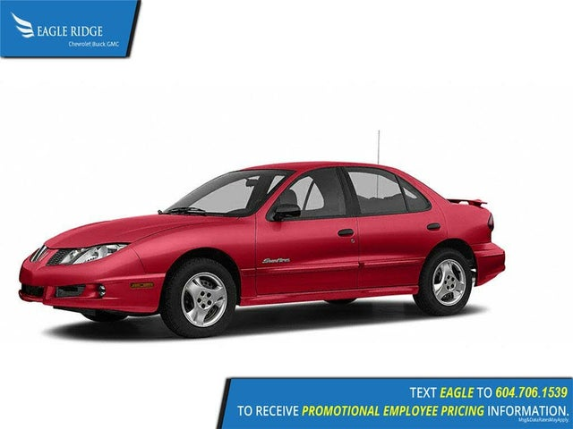 2004 Pontiac Sunfire SL Sedan