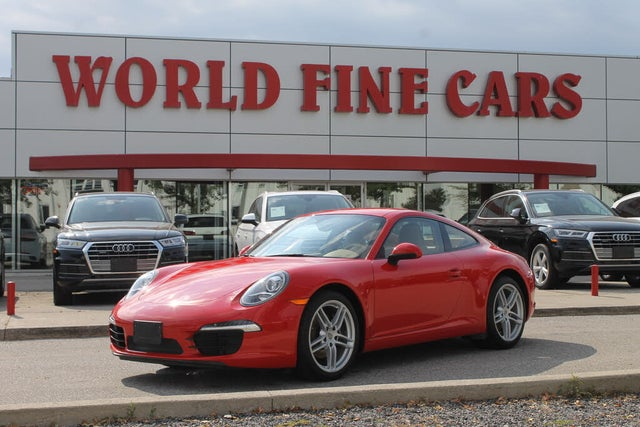 2013 Porsche 911 Carrera Coupe RWD