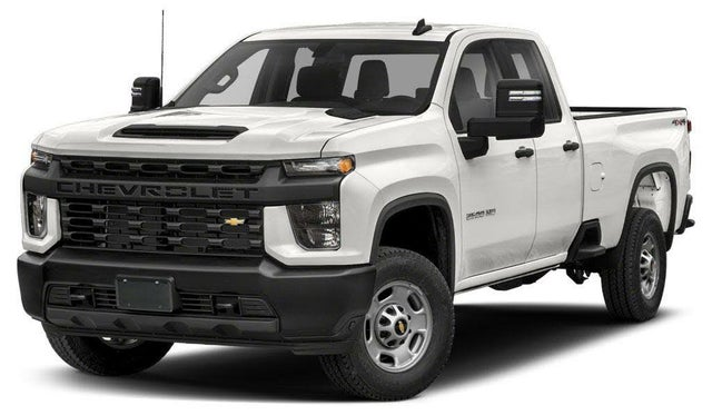 2020 Chevrolet Silverado 2500HD Work Truck Double Cab 4WD