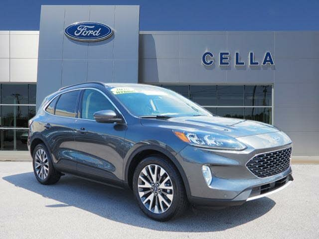 Certified 2020 Ford Escape Hybrid For Sale Cargurus