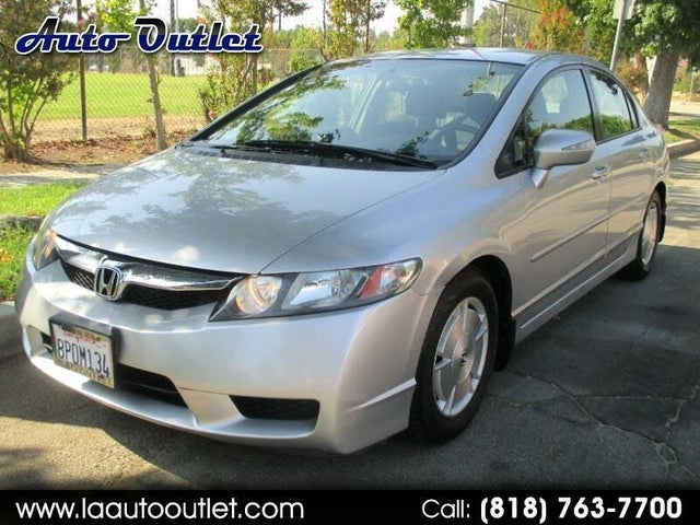 2009 Honda Civic Hybrid FWD with Leather