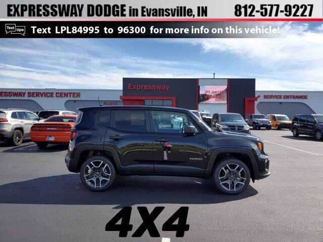 2020 Jeep Renegade Jeepster 4WD