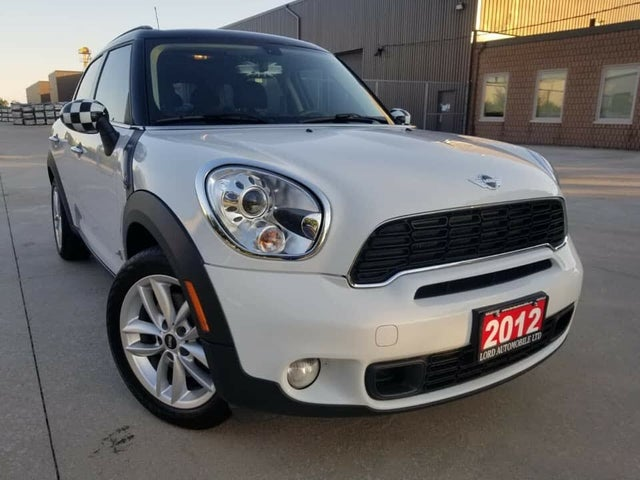 2012 MINI Countryman S ALL4 AWD