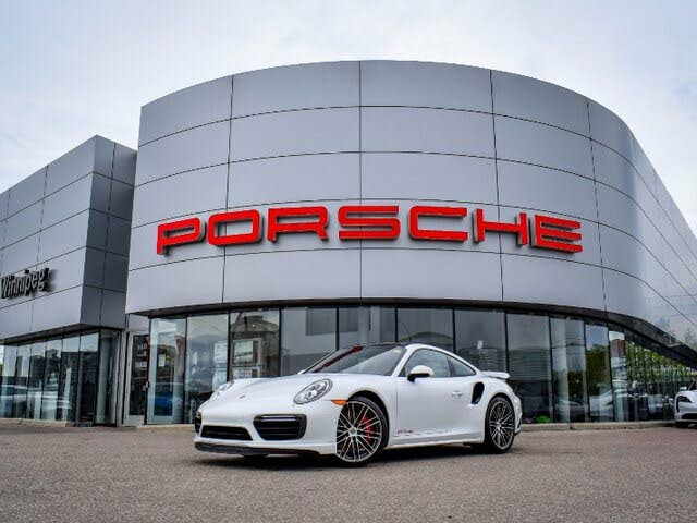 2018 Porsche 911 Turbo Coupe AWD