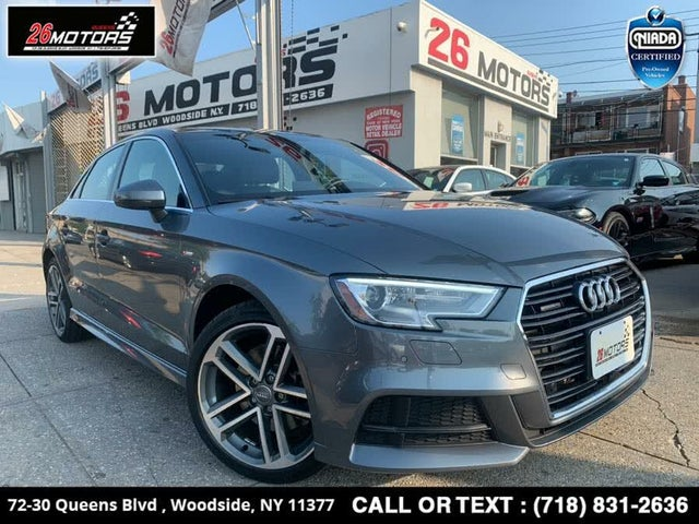2017 Audi A3 2.0T quattro Premium Plus Sedan AWD