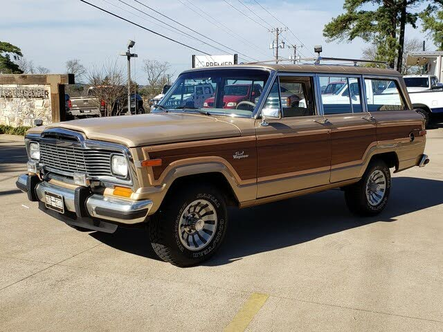 1984 Jeep Grand Wagoneer 4 Dr STD 4WD SUV
