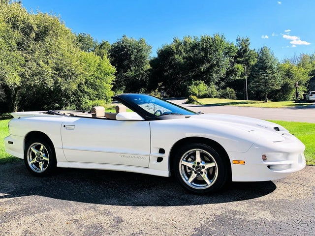 2000 Pontiac Firebird Trans Am Convertible