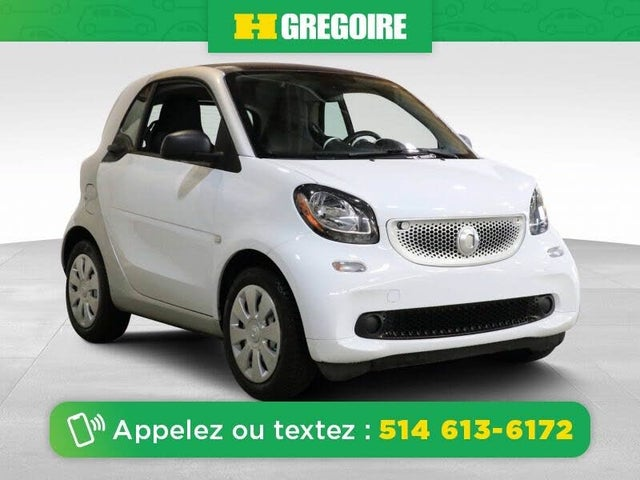 2016 smart fortwo pure