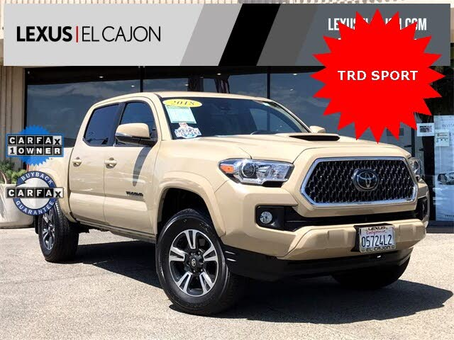 2018 Toyota Tacoma TRD Sport Double Cab RWD