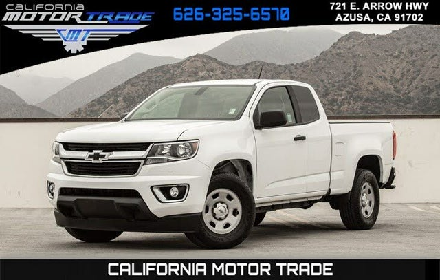 2016 Chevrolet Colorado Base Extended Cab LB RWD