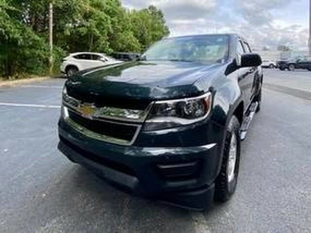 2018 Chevrolet Colorado Work Truck Crew Cab RWD