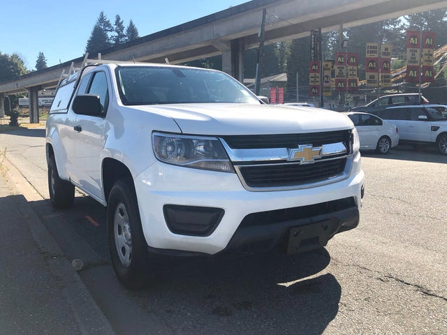 2016 Chevrolet Colorado Work Truck Extended Cab LB 4WD