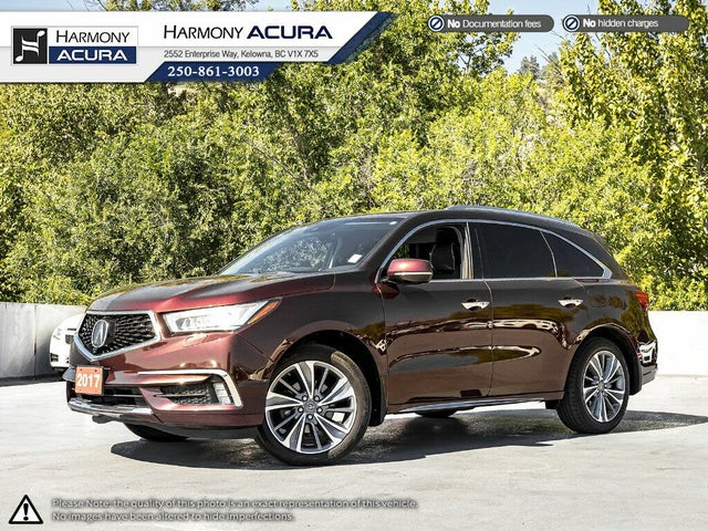 2017 Acura MDX SH-AWD with Elite Package