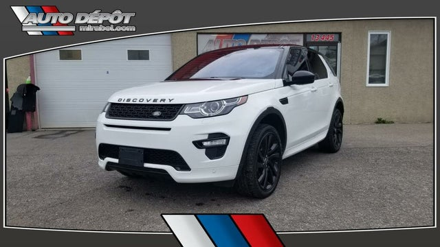 2018 Land Rover Discovery Sport HSE Luxury AWD