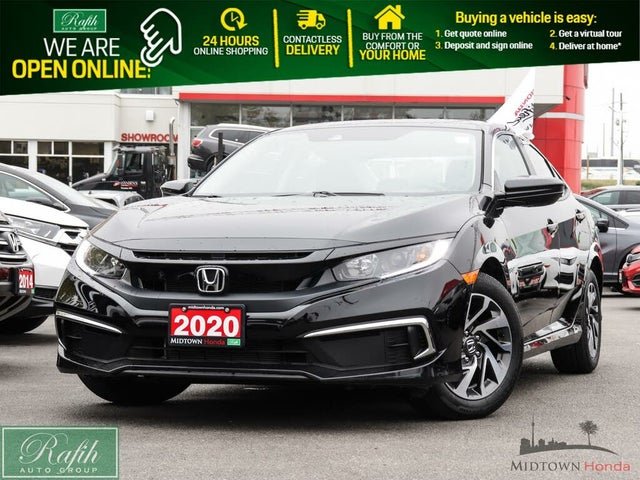 2020 Honda Civic EX Sedan FWD