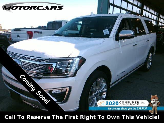 2019 Ford Expedition MAX Platinum 4WD