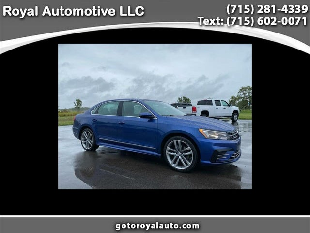 2016 Volkswagen Passat 1.8T R-Line with Comfort Package