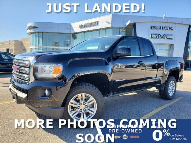 2019 GMC Canyon SLE Extended Cab 4WD