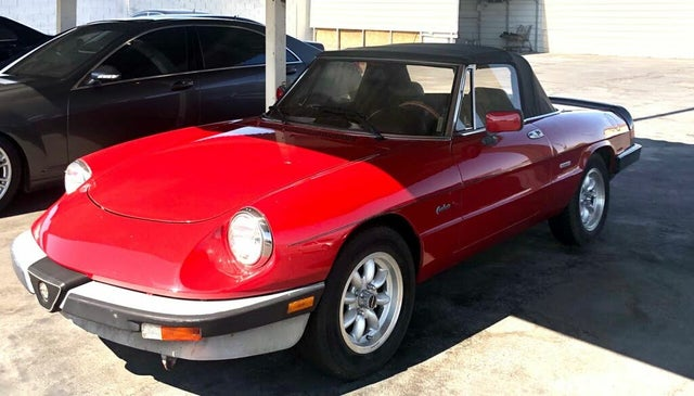 1988 Alfa Romeo Spider Graduate RWD