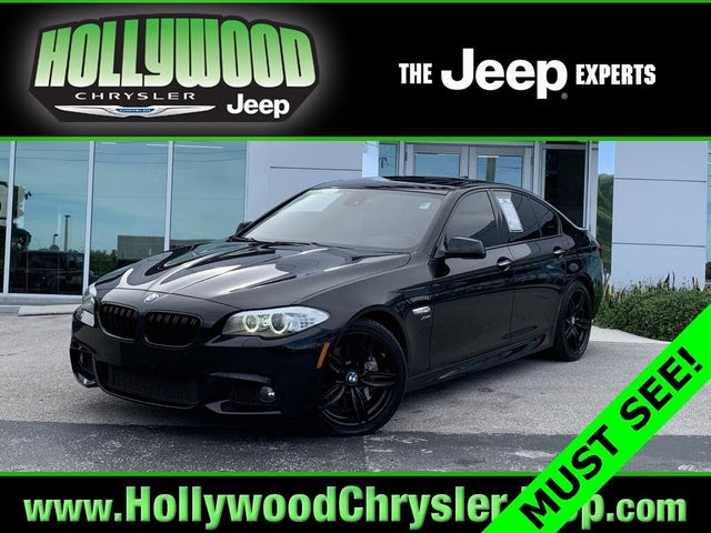 2012 BMW 5 Series 550i xDrive Sedan AWD