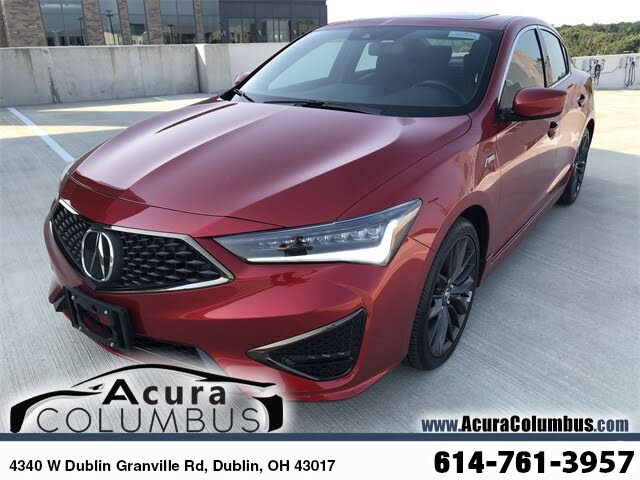 2020 Acura ILX FWD with Technology and A-Spec Package