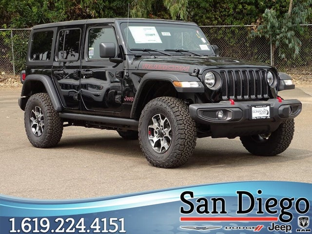 jeep wrangler unlimited rubicon for sale san diego