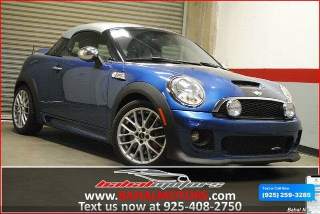2012 MINI Cooper Coupe John Cooper Works FWD