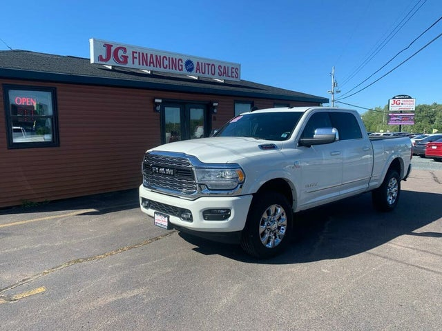 2019 RAM 3500 Limited Crew Cab 4WD