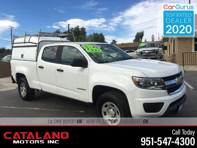 2017 Chevrolet Colorado Work Truck Crew Cab RWD