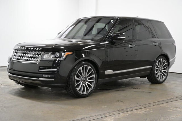 2017 Land Rover Range Rover V8 Autobiography 4WD