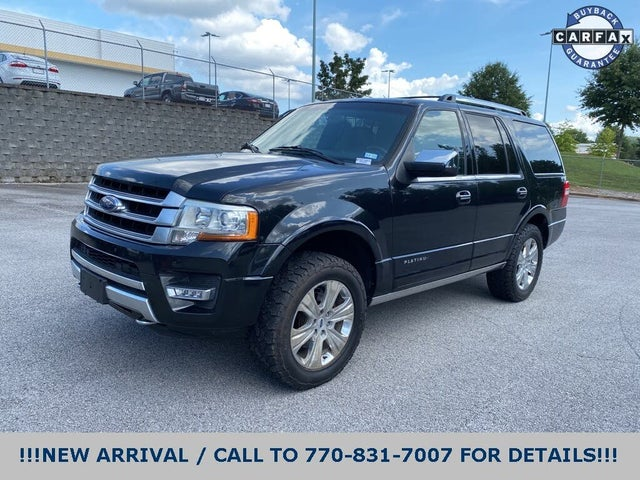 2015 Ford Expedition Platinum 4WD