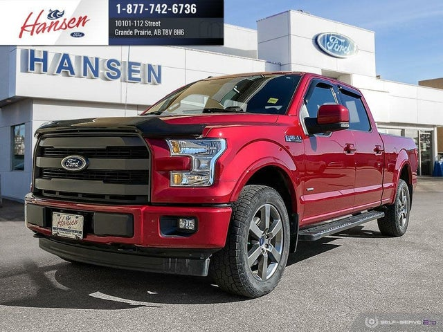 2017 Ford F-150 Lariat SuperCrew LB 4WD