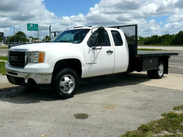 2009 GMC Sierra 3500HD Work Truck Ext. Cab 161.5 in. Chassis