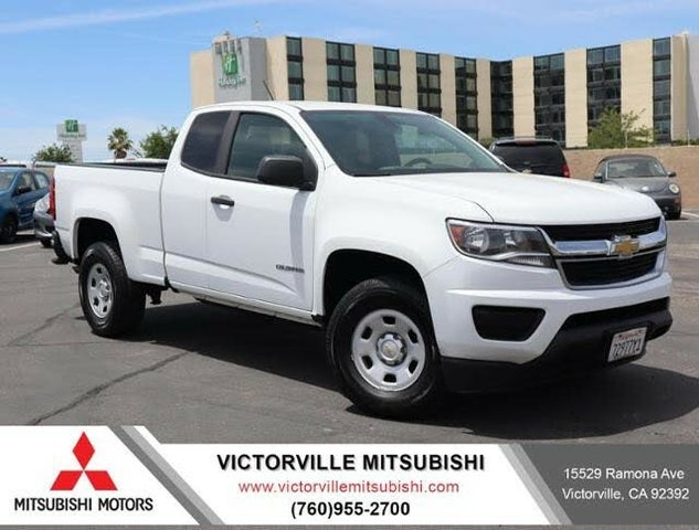 2015 Chevrolet Colorado Work Truck Extended Cab LB RWD