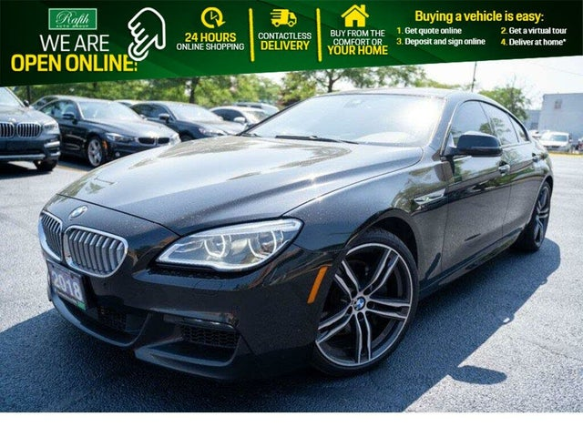 2018 BMW 6 Series 650i xDrive Gran Coupe AWD