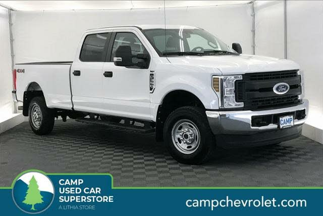 2018 Ford F-350 Super Duty XL Crew Cab 4WD