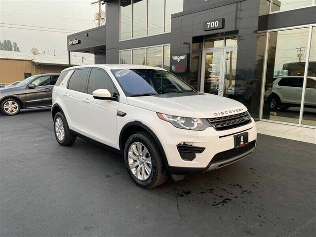 Used 2019 Land Rover Discovery Sport Se Awd For Sale Right Now Cargurus