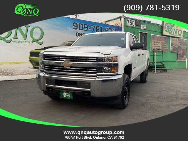 2015 Chevrolet Silverado 2500HD Work Truck Double Cab LB 4WD
