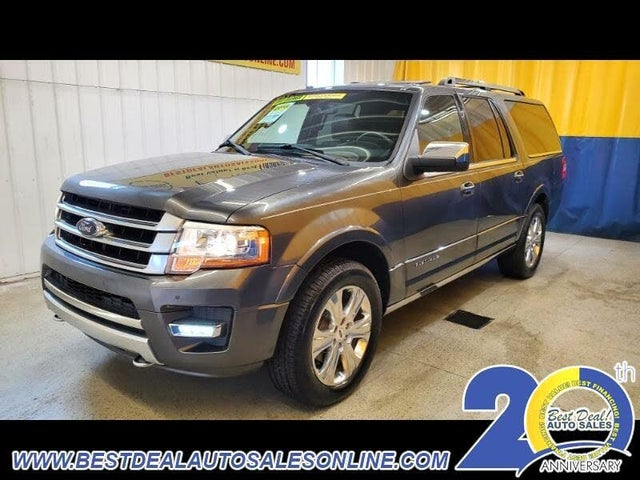 2015 Ford Expedition EL Platinum 4WD