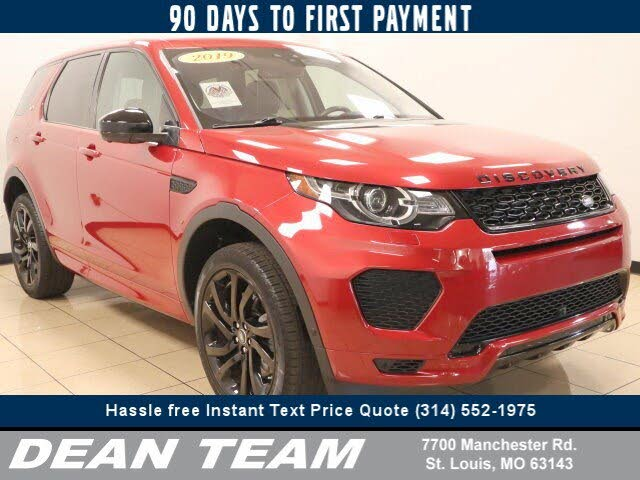 2019 Land Rover Discovery Sport 286hp HSE Luxury AWD