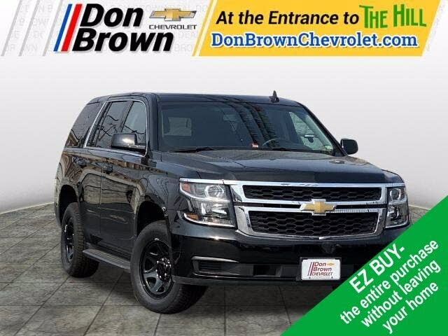 2018 Chevrolet Tahoe Police 4WD