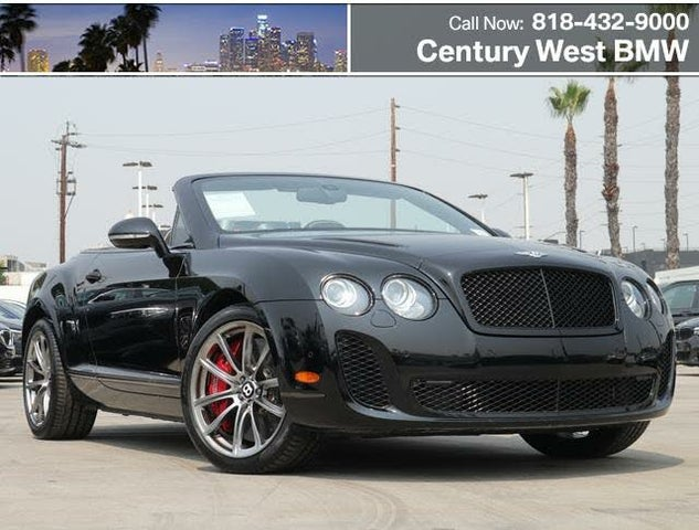 2012 Bentley Continental Supersports Convertible AWD