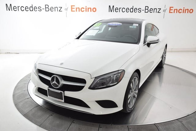 2020 Mercedes-Benz C-Class C 300 Coupe RWD
