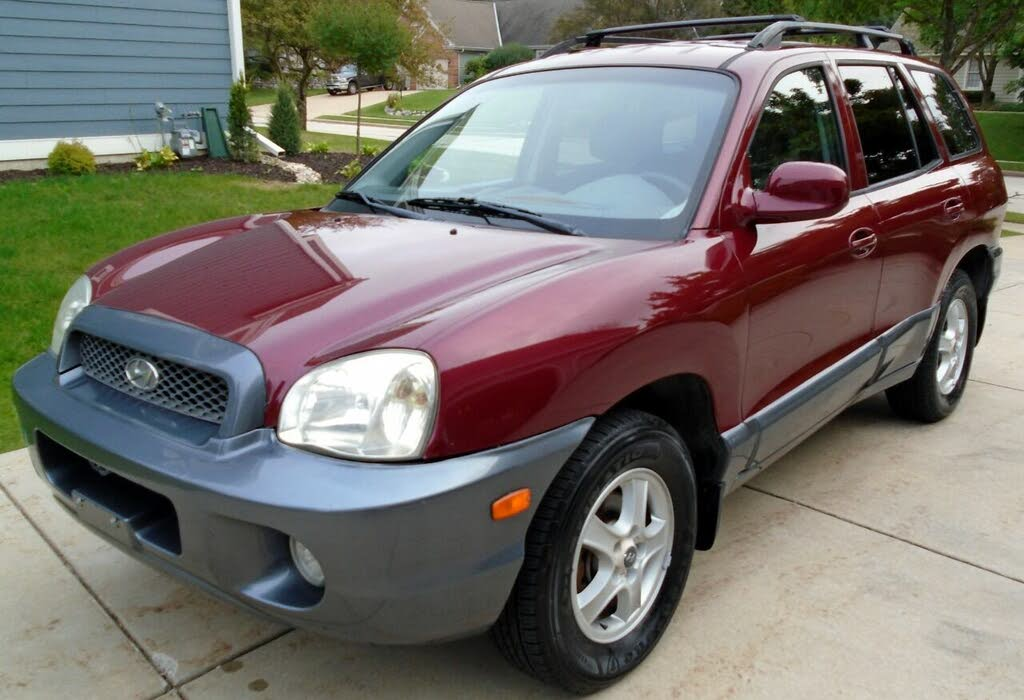 50 best 2002 hyundai santa fe for sale savings from 2 579 2002 hyundai santa fe