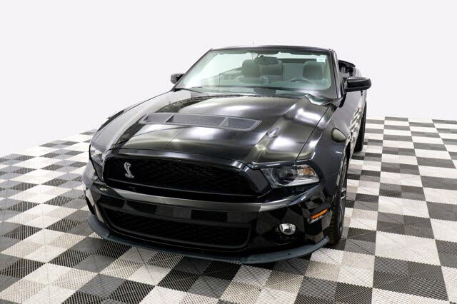 2010 Ford Mustang Shelby GT500 Convertible RWD