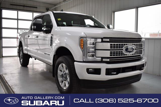 2019 Ford F-350 Super Duty Platinum Crew Cab 4WD