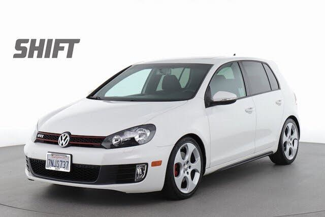 2012 Volkswagen GTI 2.0T 4-Door FWD with Convenience and Sunroof