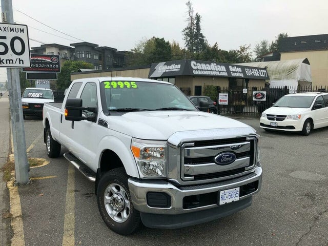 2014 Ford F-250 Super Duty XLT Crew Cab 4WD