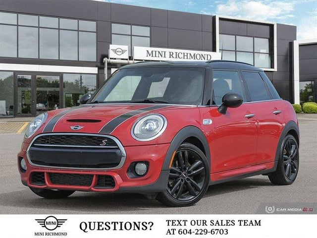 2015 MINI Cooper S 4-Door Hatchback FWD